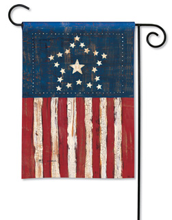 Antique Flag - Garden Flag by Magnet Works