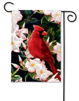 Garden Cardinal - Garden Flag by Magnet Works