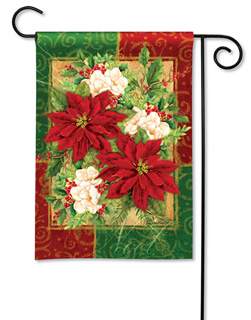 Holiday Bouquet - Garden Flag by Magnet Works