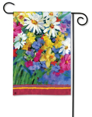 Meadow Flowers - Garden Flag by Magnet Works
