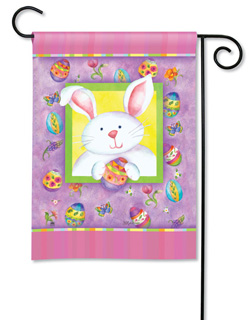Happy Easter Bunny - Garden Flag by Magnet Works