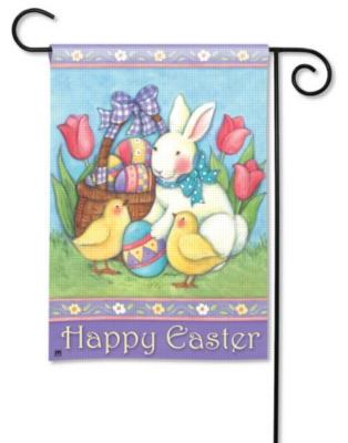 Easter Buddies - Garden Flag by Magnet Works