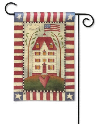 American Home - Garden Flag by Magnet Works