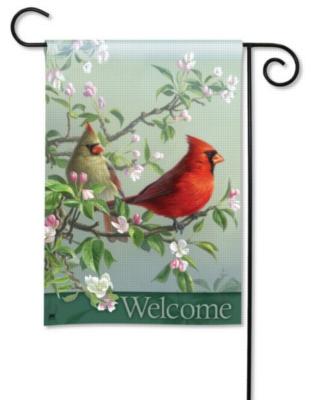 Spring Pair - Garden Flag by Magnet Works