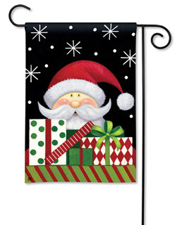 Santa Season - Garden Flag by Magnet Works