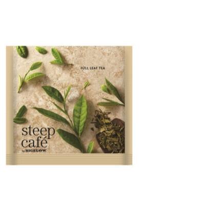 Steep Café Tea by Bigelow - Individually Wrapped Tea Bag