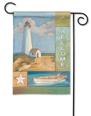 Nautical Collage - Garden Flag by Magnet Works