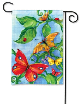 Butterfly Boulevard - Garden Flag by Magnet Works