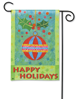 Holiday Ornament - Garden Flag by Magnet Works