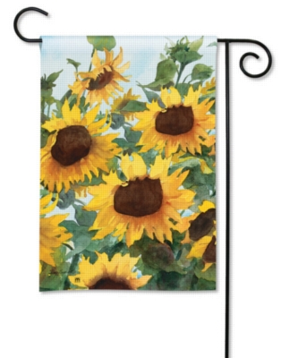 Sunflowers - Garden Flag by Magnet Works