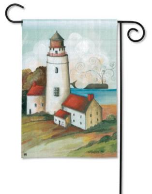Lighthouse Bay - Garden Flag by Magnet Works