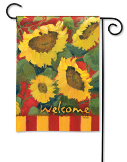 Summer Sunflower - Garden Flag by Magnet Works