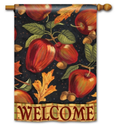 Autumn Apples - Standard Flag by Magnet Works