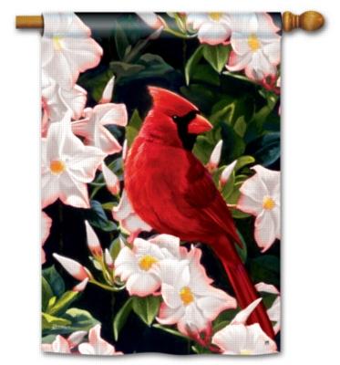 Garden Cardinal - Standard Flag by Magnet Works