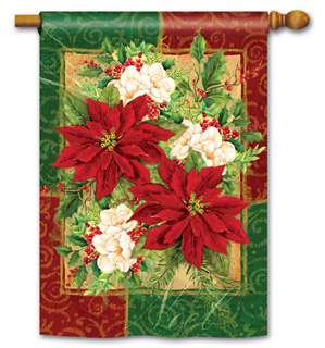 Holiday Bouquet - Standard Flag by Magnet Works