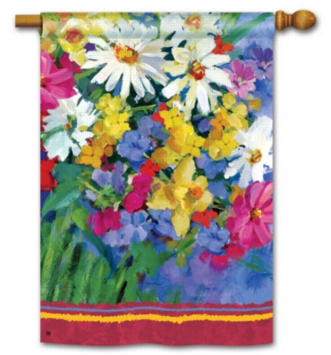 Meadow Flowers - Standard Flag by Magnet Works