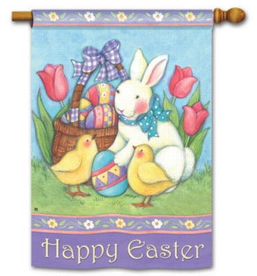 Easter Buddies - Standard Flag by Magnet Works