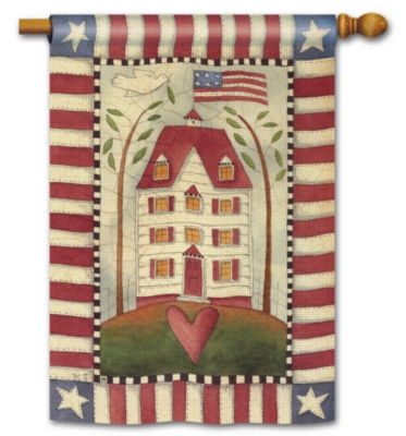 American Home - Standard Flag by Magnet Works