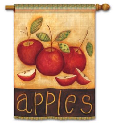 Primitive Apples - Standard Flag by Magnet Works
