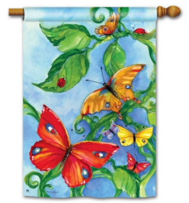 Butterfly Boulevard - Standard Flag by Magnet Works