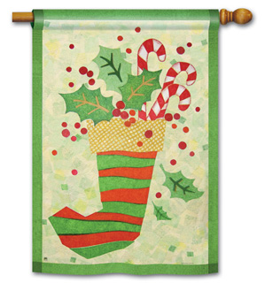 Christmas Stocking - Standard Flag by Magnet Works