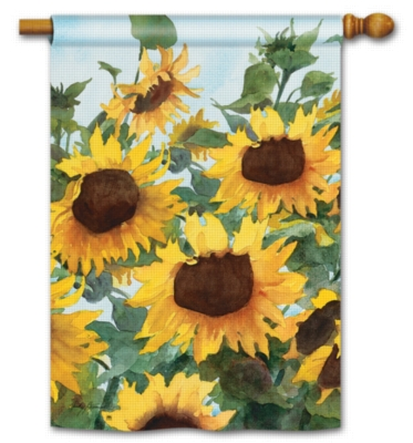 Sunflowers - Standard Flag by Magnet Works