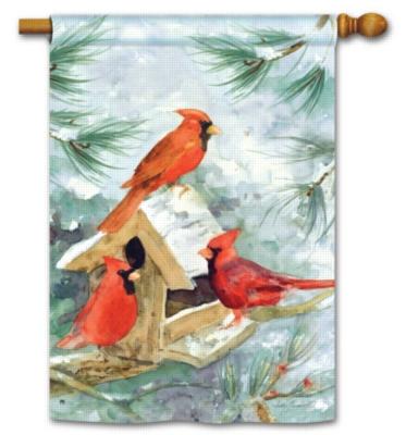 Cardinal Feeder - Standard Flag by Magnet Works