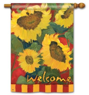 Summer Sunflower - Standard Flag by Magnet Works