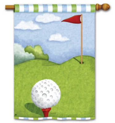 Tee Time - Standard Flag by Magnet Works
