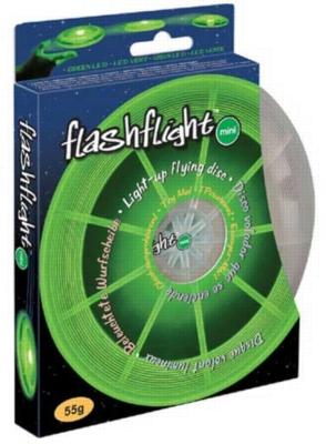 Flashflight Mini Disc - L.E.D. Flying Disc