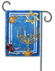 Chanukah - Garden Flag by Toland