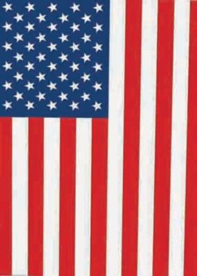 USA Flag - Garden Flag by Toland