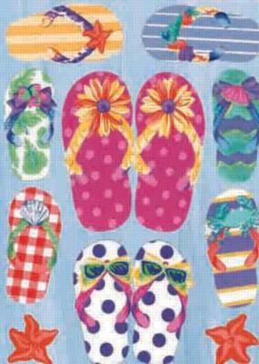 Flip Flops - Garden Flag by Toland
