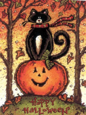 Hilltop Halloween - Garden Flag by Toland