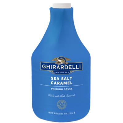 Ghirardelli Sea Salt Caramel Sauce - 64 fl. oz. Bottle