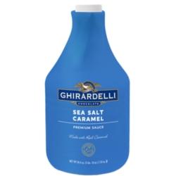 Ghirardelli Sauce - 64 fl. oz. Bottle: Sea Salt Caramel