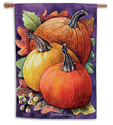 Fall Gathering - Standard Flag by Toland