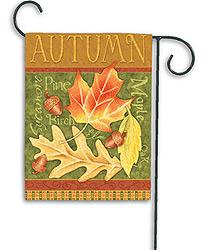 Autumn Leaf Medley - Garden Flag by Toland