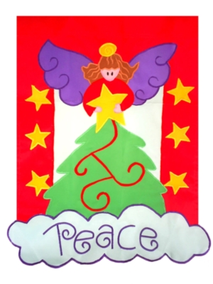 Tree Topper - Standard Applique Flag by Toland