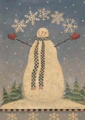 Snow Show - Garden Flag by Toland