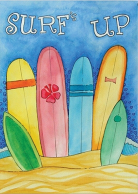 Surfs Up - Garden Flag by Toland