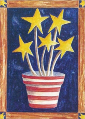 Growing Patriotism - Garden Flag by Toland