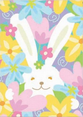 Hidden Bunny - Standard Flag by Toland