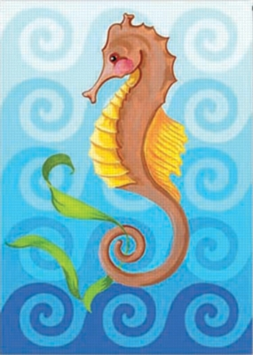 Seahorse - Standard Flag by Toland