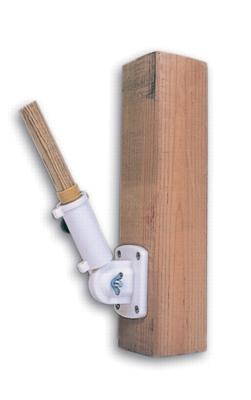 Adjustable Metal Flag Pole Bracket
