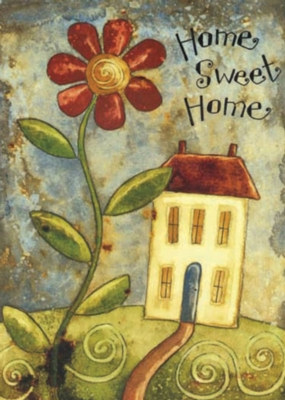 Home Sweet Home - Garden Flag by Toland