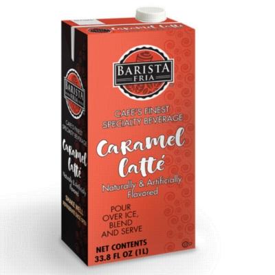 Barista Fria: 1L Shelf Stable Carton: Caramel Latte Mix