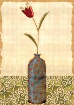 Tulip Vase - Garden Flag by Toland
