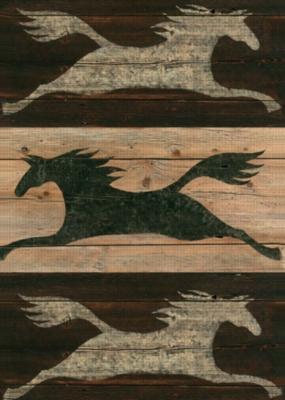 Shadow Horse - Garden Flag by Toland