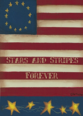 Stars and Stripes - Garden Flag by Toland